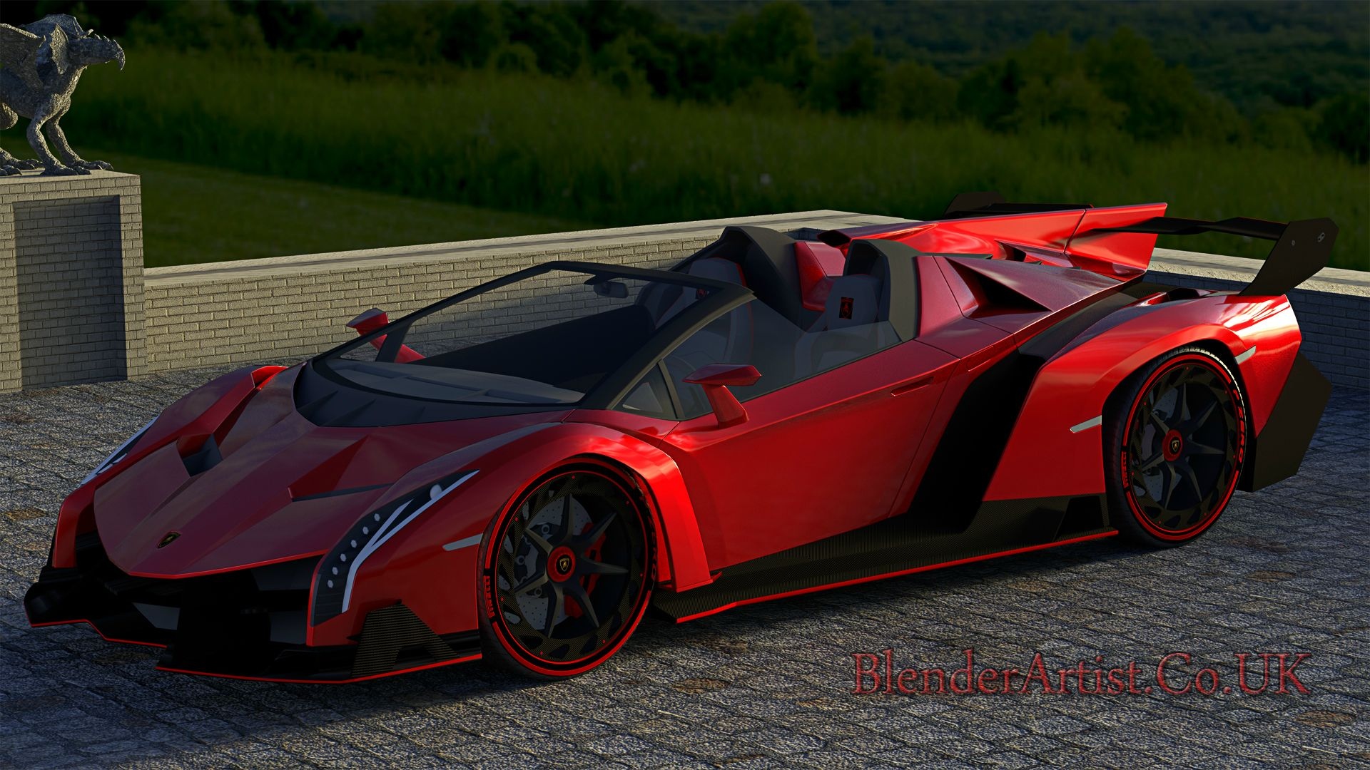 Most expensive supercar made. Starting at $4.5 million. © BlenderArtist.Co.Uk 2014.